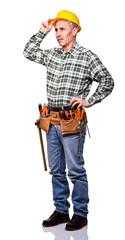 confident carpenter