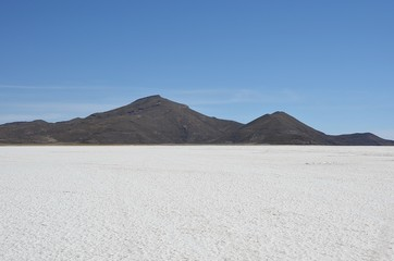 Salar de Uyuni en Bolivie