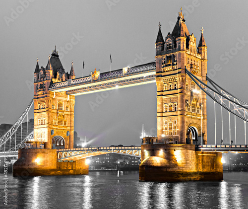 Tower Bridge, London, UK - 49212693