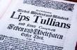 Räuberbande Lips Tullian 4