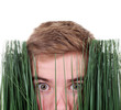 Blick durch's Gras