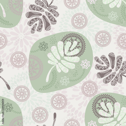 Tapeta floral seamless pattern