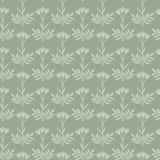 Seamless floral grey decorative pattern