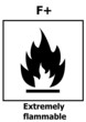 Hazard symbol extremely flammable