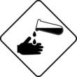 Warning symbol corrosive