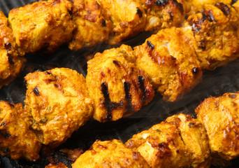 Indian Chicken Tikka Kebabs