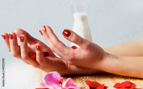 Fototapeten,hand,nestausflug,manicure,kunst