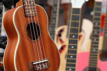 guitar - ukulele