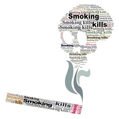 Smoking Kills word cloud 2