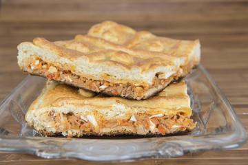 Empanada gallega tradicional.