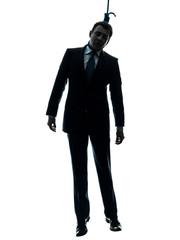 man hangman  silhouette
