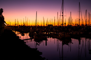 Twilight Marina