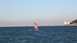 Windsurfer in the Trieste sea