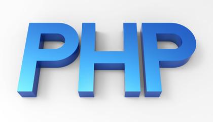 PHP language code 3D