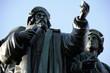 Leinwanddruck Bild - Johannes Gutenberg Denkmal