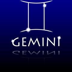 Signs of the zodiac. Gemini