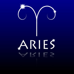 Signs of the zodiac. Aries