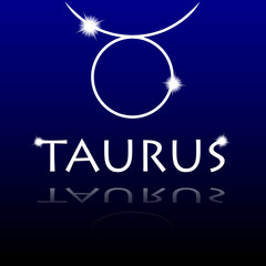 Signs of the zodiac. Taurus