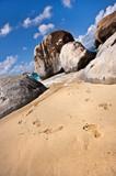 Fototapeta woda - skały - Wyspa