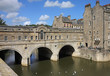 The Pulteney Bridge in Bath