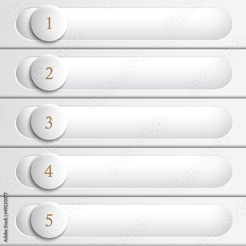 Creative  white design website layout