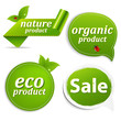 Green Set Eco Tags