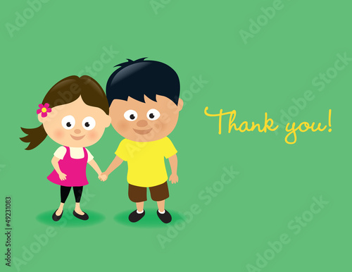 Kids thank you