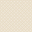 Seamless Pattern Hearts Retro Beige