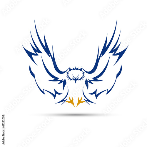 Logo eagle # Vector