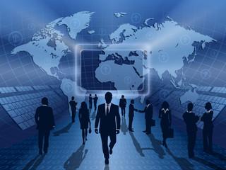 blue business online
