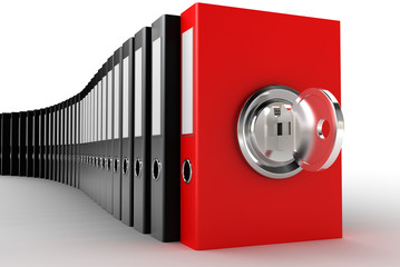 Concept of securing and protecting sensitive data