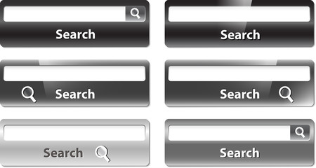 Several types of search bar design