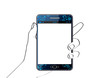 Phablet bleu [smartphone et tablette] - Téléphonie