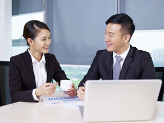 asian business people