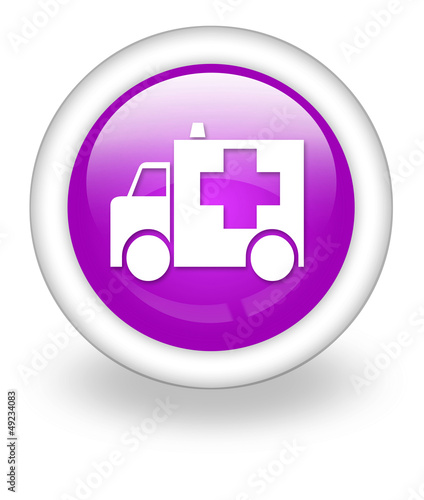 "Violet Icon ""Ambulance"""
