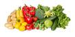 Obst und Gemüsemix