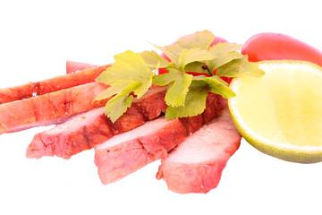 Roasted red pork