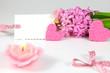 Alles in rosa zum Valentinstag