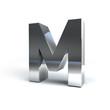Metal Alphabet Character M