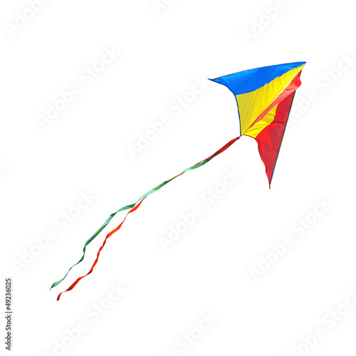 Kite on a white background - 49236025