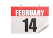 Calendar February 14