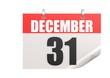 Calendar December 31