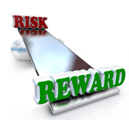 Risk vs Rewards Comparison on Balance Return Investment