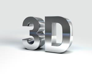 Metal Text 3D