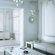 Klassical Salon in neutral white (focused)