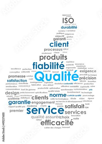 Nuage de Tags QUALITE (service satisfaction like garantie)