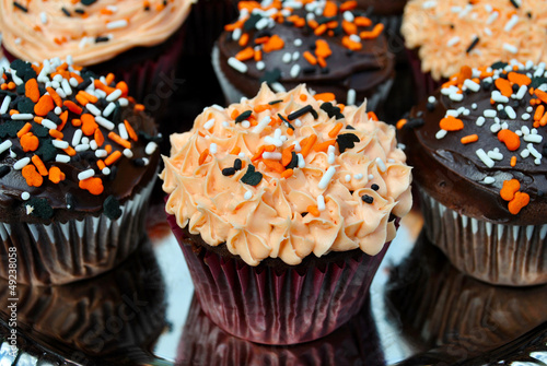 Chocolate Halloween Cupcakes