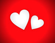 abstract love heart