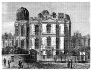 Observatory (Paris - France) -  View 19th century