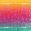 Leinwanddruck Bild - abstract powerful background pattern